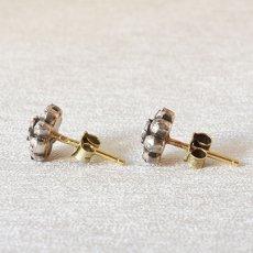 画像3: 14ct・シルバー・ダイヤモンドイヤリング (3)