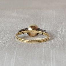 画像3: ゴールド・シルバー・パール ダイヤモンドリング (3)