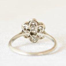 画像4: 18ctゴールド・プラチナ・ダイヤモンドリング (4)