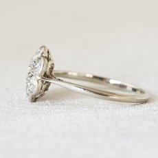 画像3: 18ctゴールド・プラチナ・ダイヤモンドリング (3)