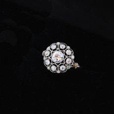 画像5: プラチナ・18ctゴールド・ダイヤモンドリング (5)