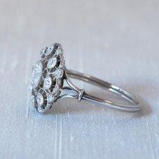 画像3: プラチナ・18ctゴールド・ダイヤモンドリング (3)