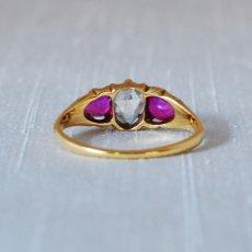 画像4: Gold,ルビー ダイヤモンドリング (4)