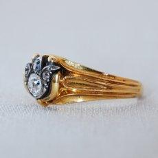画像2: Gold・Sv・ダイヤモンドリング (2)