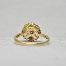 画像4: 18ct, (wg) ダイヤモンドリング (4)