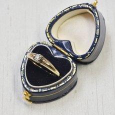 画像6: ゴールド・シルバー ダイヤモンドリング (6)