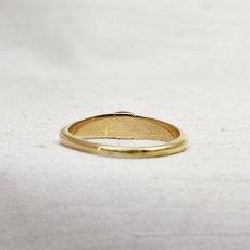 画像3: ゴールド・シルバー ダイヤモンドリング (3)