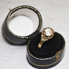 画像5: ゴールド・ダイヤモンドリング (5)