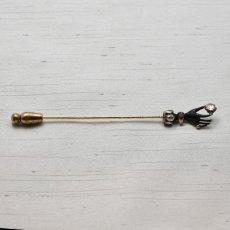 画像1: ゴールド・シルバー・エナメル・ダイヤモンドピン (1)