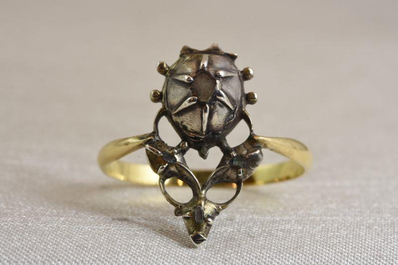 画像1: GOLD,SV ダイヤモンドリング (1)