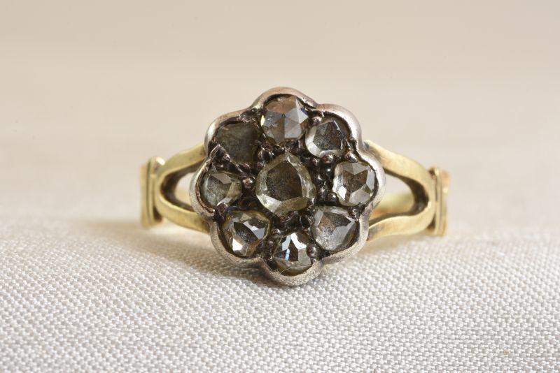 画像1: GOLD,SV・ ダイヤモンドリング (1)